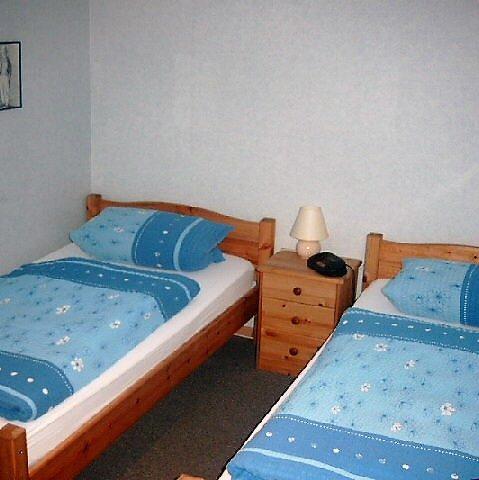 Kinderschlafzimmer unserer Ferienwohnung in Hagenberg am Steinhuder Meer.