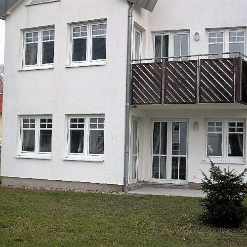 Außenansicht unserer Ferienwohnung auf Usedom