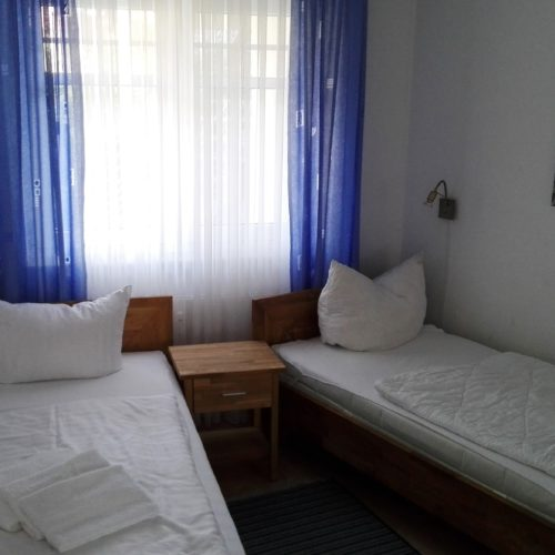 Kinderschlafzimmer unserer Ferienwohnung auf Usedom